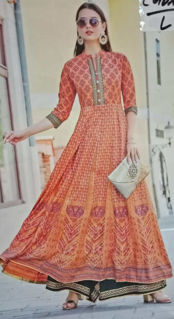 Floor length long Kurti